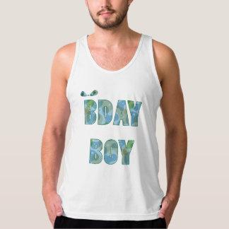 """""""BDay Boy"""" Camo Tank"""