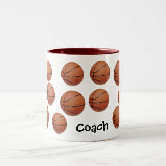 Be A Baller Two-Tone Mug