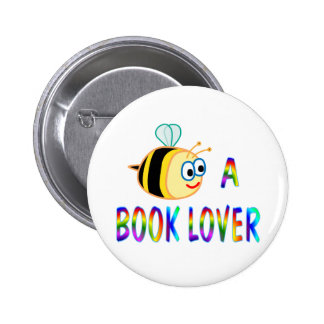 Be a Book Lover 2 Inch Round Button