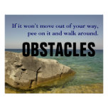 Be a Dog: Don't Let Obstacles Block Your Way [S]