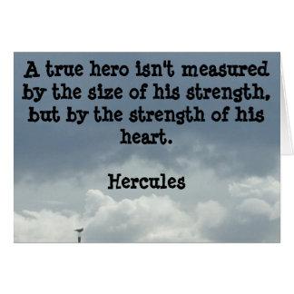 Be a Hero Greeting Card