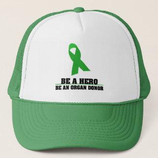 Be a Hero Organ Donation Trucker Hat