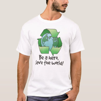 Be a Hero, Recycle Kids T-Shirt