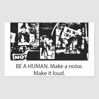 Be A Human sticker