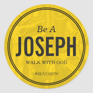 Be A Joseph Custom 3 inch Sticker
