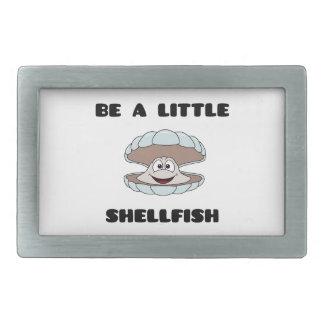 Be a little shellfish scallop belt buckle