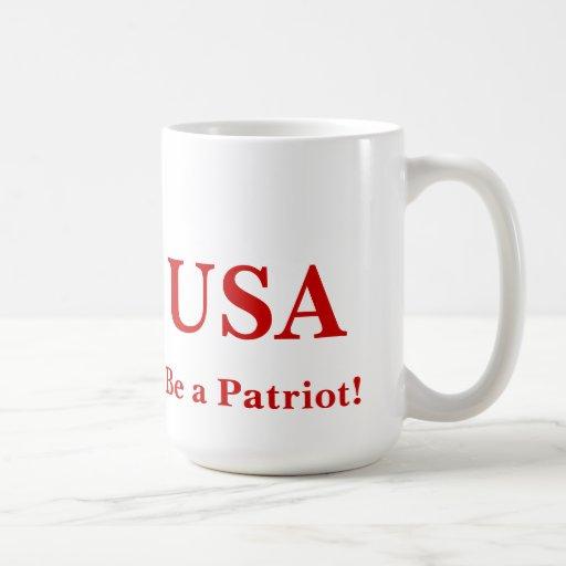 Be a Patriot - Mug!