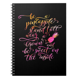 BE A pin Apple: stood tall, wear A crown, for BE Notebook