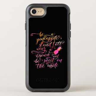 BE A pin Apple: stood tall, wear A crown, for BE OtterBox Symmetry iPhone 8/7 Case