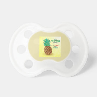 Be a Pineapple BooginHead® Pacifier