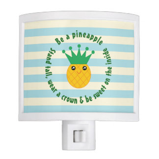 Be A Pineapple Inspirational Quote Nite Light