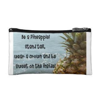 Be a pineapple makeup bag