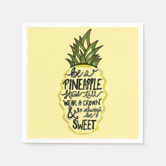 Be A Pineapple Paper Napkin