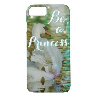 Be A Princess iphone Case - Glorious Princess Swan