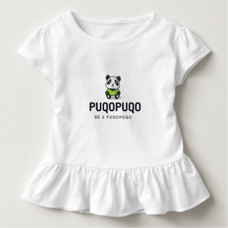 BE A Puqopuqo - a panda for the winter days Toddler T-shirt