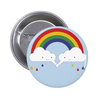 Be a rainbow 2 inch round button