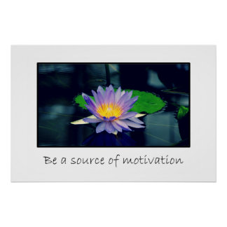 Be a source of motivation print