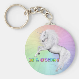 Be A Unicorn Keychain