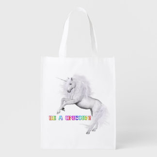 Be A Unicorn Reusable Grocery Bag