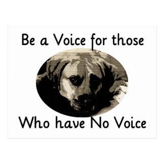 Be a Voice Postcard