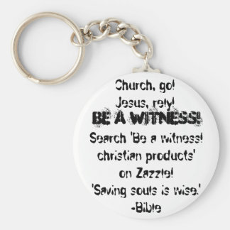 Be a witness! christian keychain-low price!
