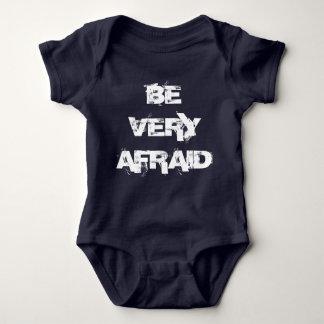 Be Afraid Be Very Afraid Twin Set (Part 2 of 2) Baby Bodysuit