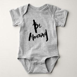 """Be Amazing"" - Inspirational Baby's Bodysuit"
