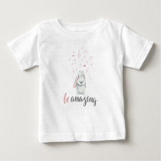 Be Amazing Music Bunny Baby T-Shirt