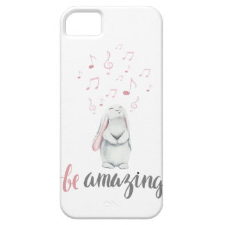 Be Amazing Music Bunny Case For The iPhone 5