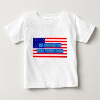 BE AMERICAN VOTE REPUBLICAN T SHIRT