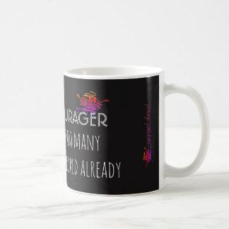Be an encourager...... coffee mug