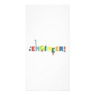 Be an Engineer with Tools Z8c69 Custom Photo Card