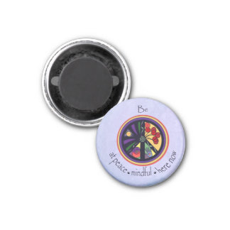 Be at Peace Mandala Magnet