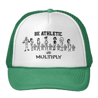 Be Athletic and Multiply Trucker Hat
