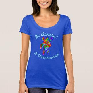 Be Aware! Be Understanding!  Autism Awareness T-Shirt