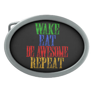 Be Awesome! Belt Buckles