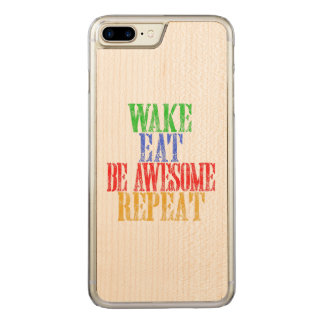 Be Awesome! Carved iPhone 8 Plus/7 Plus Case
