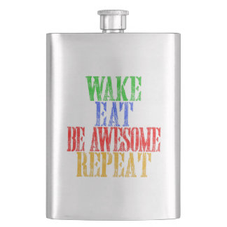 Be Awesome! Hip Flask