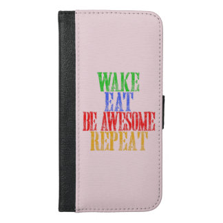 Be Awesome! iPhone 6/6s Plus Wallet Case