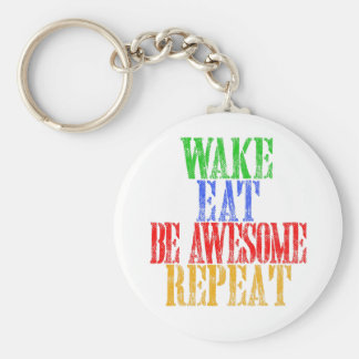 Be Awesome! Keychain