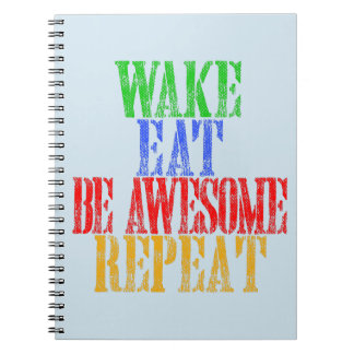 Be Awesome! Notebook