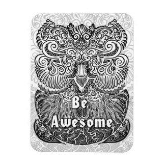 Be Awesome - Positive Statement Quote Magnet