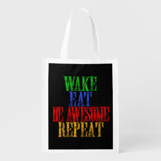 Be Awesome! Reusable Grocery Bag