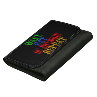Be Awesome! Women's Wallet