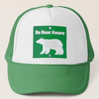 Be Bear Aware Trucker Hat