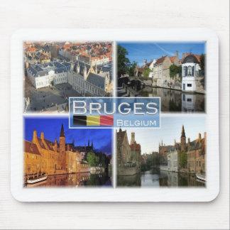 BE Belgium - Bruges - De Burg - Mouse Pad