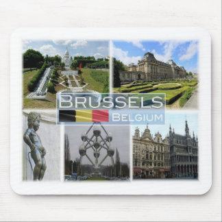 BE Belgium - Brussel - Mini Europe - Manneke Pis - Mouse Pad