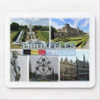 BE Belgium - Bruxelles - Mini Europe - Mouse Pad