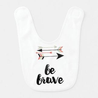 Be Brave 02 Baby Bib