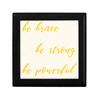 be brave be strong be powerful gift box
